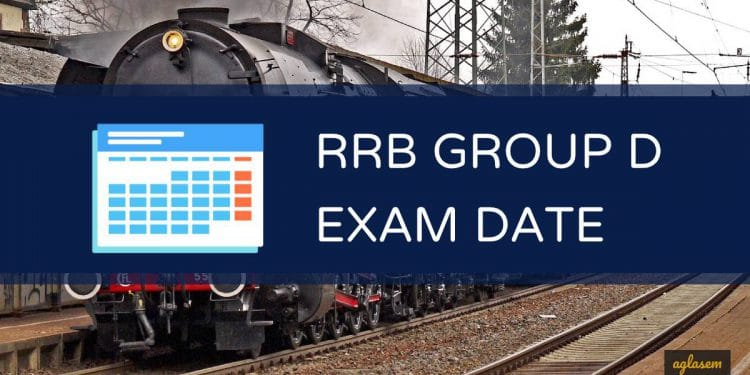 RRB Railway Group D Exam Date 2020