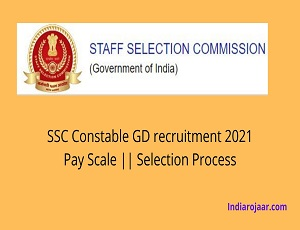 SSC Constable GD recruitment 2021