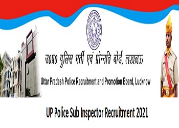 UP Police Sub Inspector Recruitment 2021